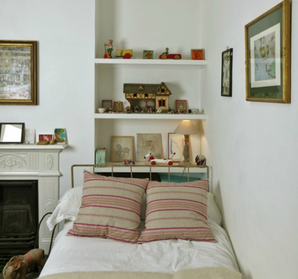 Cama de decoraci n chic - Cabeceros de cama de hierro ...