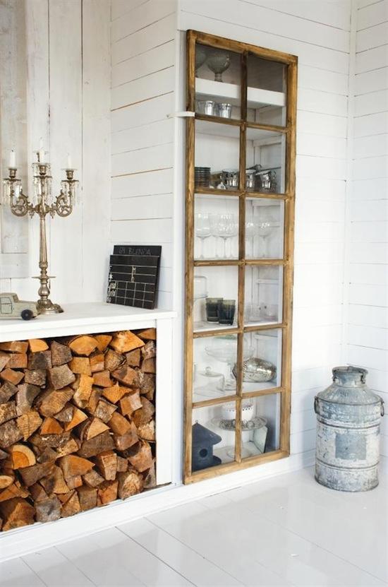 Decoracion De Baños Luz En Casa:Fireplace Wood Storage Doors