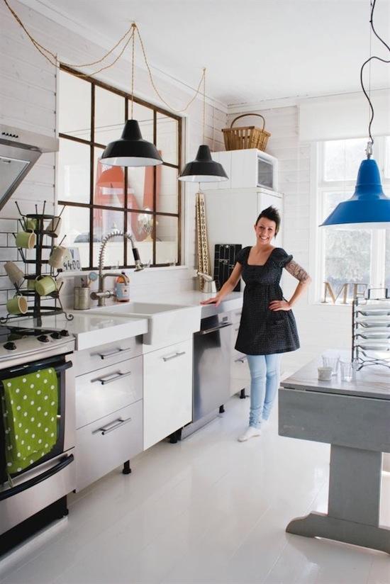 Cocina vintage decoraci n chic - Decoracion cocina vintage ...