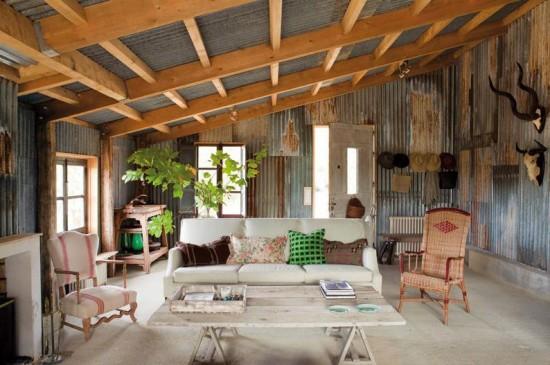 La casa de isabel lopez quesada decoraci n chic - Cual es el mejor techo para una casa ...