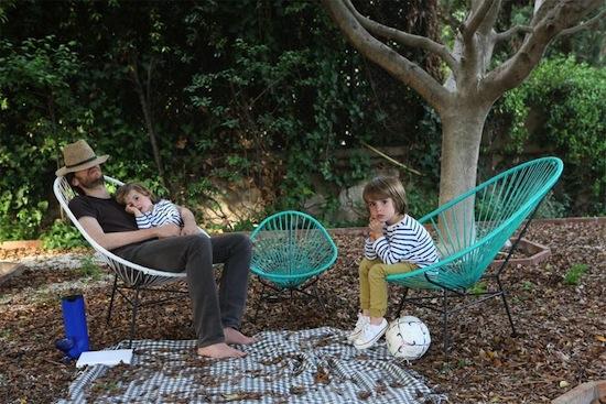 muebles de terraza y jardin cómodos y divertidos | decoración chic