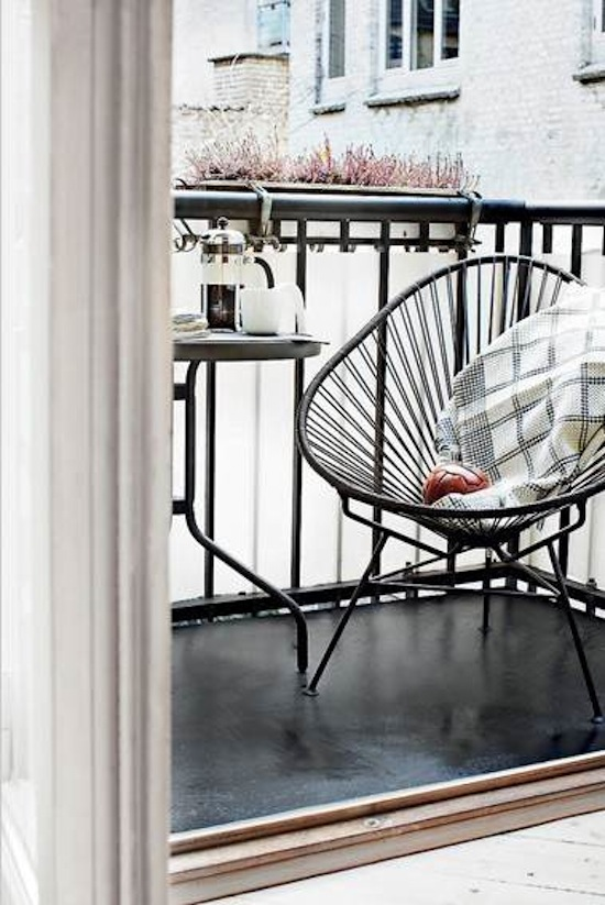 muebles de terraza y jardin c modos y divertidos decoraci n chic. Black Bedroom Furniture Sets. Home Design Ideas