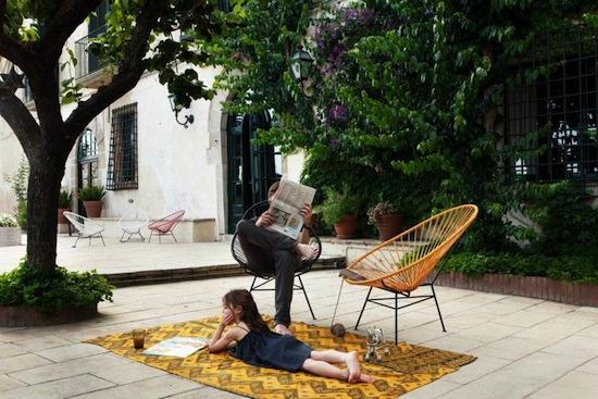 Muebles terraza y jardin etnicos colores decoraci n chic for Muebles de terraza alcampo